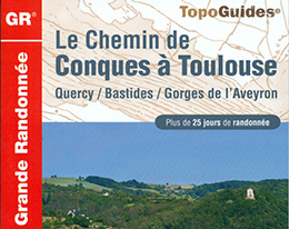 New Conques Toulouse long distance footpath